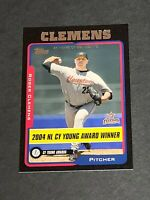 Roger Clemens Houston Astros 2005 Topps Black #714 18/54