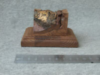 Wooden Base for Models, Wooden stand for Miniatures, Soldier, 67x99 mm
