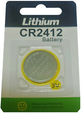 ☀️☀️☀️☀️☀️ 1 x CR2412 3V Lithium Knopfzelle 100 mAh(1 Card a 1 Batterie)EASTCELL