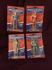 Justice League New Frontier DC Comics Figure Lot Superman Batman Wonder Woman