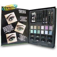Ultimate Eye Make Up Kit Lashes Shimmer Dust Shadow Mascara Pencil Eyes Gift Set