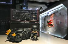 Hot Toys Justice League Batman & Batmobile Cosbaby Collectible Set