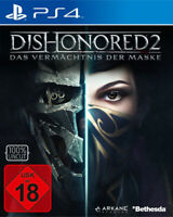 Dishonored 2 D1-Edition (PS4 PlayStation 4) (NEU & OVP) (UNCUT) (Blitzversand)