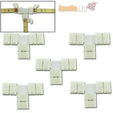 5pcs T type Easy Quick Connectors For Single Color 3528-SMD LED Strip Lights AS3