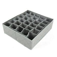 30 slot di Storage Box Armadio Organizer Cassetto Portaoggetti Calzini Cravatte soluzione