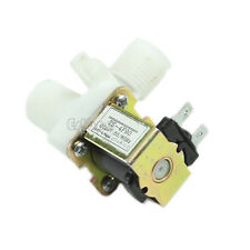 """Electric Solenoid Valve Magnetic N/C DC 24V Water Air Inlet Flow Switch 1/2"""" Hot"""