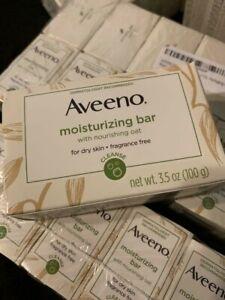 Aveeno Moisturizing Soap Bar Unscented 3.5 oz
