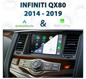 Infiniti QX80 2014 - 2019 Android Auto & Apple CarPlay Integration