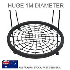 Solid Whole Piece 100cm Diameter Nest Swing Spider Web Seat HEAVY DUTY