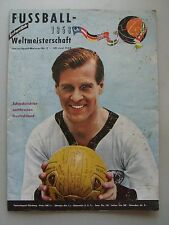 Fussball-Weltmeisterschaft 1958 Jahres-Sport-Meister Nr. 2/1958 Fußball Heft