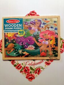 Children's Tray Jigsaw Puzzle Mermaid puzzle New Sealed Mint