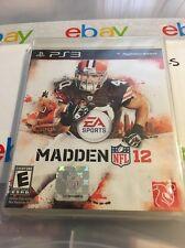 Madden NFL 12 (Sony PlayStation 3, 2011)  PS3
