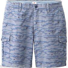 MICHAEL BASTIAN x UNIQLO 'Camouflage' Cargo Shorts Men's S Blue Camo **NEW**