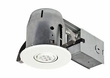 "4"" Swivel Spotlight Remodel Recessed Can Lighting Kit LED Dimmable Downlight"