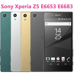 Original Sony Xperia Z5 E6653 E6683 Phone Unlocked  ROM 32GB GSM WCDMA 4G LTE