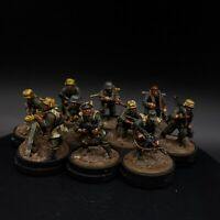 Well Painted 28mm Bolt Action German Grenadiers ×10 Squad  ww2 warlord games
