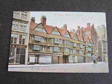 Old Houses Holborn london Shopfronts Postcard Postally used to South Australia