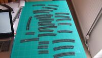 OO / HO gauge track . Hornby or alike  Joblot of curved track 26 sections