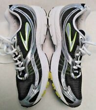 Brooks Launch Men's Size 8.5 D Black Silver Yellow Running Shoes #387