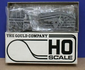 Gould 4010 HO 120 Ton Steam Wrecking Crane Kit Undecorated NIB