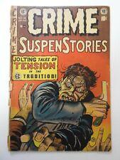 Crime SuspenStories #16 FR/GD! 4 in spine split, cover detached at top staple
