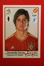Panini EURO 2012 N. 305 ESPANA TORRES  NEW With BLACK BACK TOPMINT!!