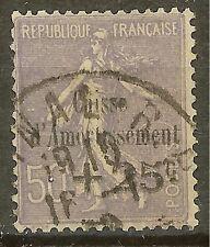 "FRANCE STAMP TIMBRE N°276""C. A. VARIETE SANS POINT SUR I""OBLITERE TB"