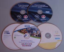 NAVTEQ HERE 5x Navigation CD Opel CD70 Alpen Benelux Italien Spanien Ost-Europa