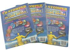60 CD Stomper Pro GLOSSY CD Label Refills 3 x 20 Lot Inkjet Floppy Covers Dvd