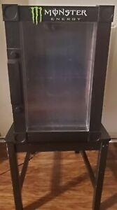 Monster Energy Drink Thermo Fridge Refrigerator Mini Fridge Tested Works Great