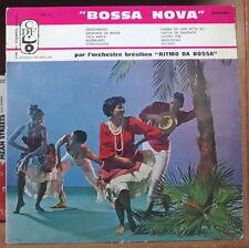 """RITMO DA BOSSA """"BOSSA NOVA"""" 25cm FRENCH LP CDF PROD. BARCLAY"""