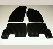Vauxhall Corsa D 2007-14 Fully Tailored Deluxe RUBBER Car Mats in Black