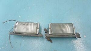 MERCEDES--BENZ    R107 560SL  450SL  350SL  380SL ,   FOG  LIGHT  PAIR  , OEM ,