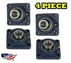 "UCF204-12 Pillow Block Flange Bearing 3/4"" Bore 4 Bolt Solid Base (4PCS)"