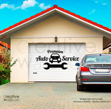 Vinyl Wall Decal Sticker Auto Car Service signboard garage your own text r1842