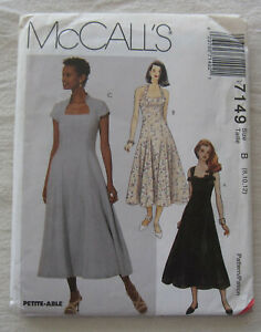 Dress Sewing Pattern*McCalls 7149*Sizes 8-12*UNCUT/FF*halter*summer*spring