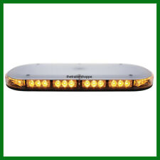 UPI Mini Light bar Magnet Mount Amber Flashing  Strobe 42 LEDs Low Profile 36937