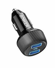Anker Power Drive 2 Elite Compact 24 W Car Charger Dual Port Car Charger with ™