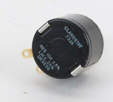 New Listingclarostat 73ja 10k 2w 5 Precision Wire Wound 10 Turn Potentiometer