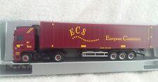 Herpa 1 : 87 146043 DAF 95 XF sattelzug ecs 'European containers'