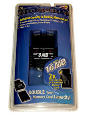 8MB PS2 Memory Card Expansion Pak For PlayStation 2 New Sealed Makes 16MB Total