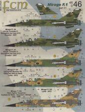 FCM 1/48 Dassault Mirage F.1 # 48046