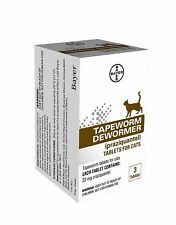 BAYER CARE TAPEWORM DEWORMER 5 TABLETS FOR DOGS - EXP 2020 *HELP SAVE ANIMALS*