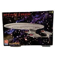 1995 AMT ERTL 1:650 Scale Star Trek U.S.S. Enterprise Model Kit Built/Unpainted