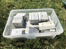New listing Lot of 40 Italian Marble Trophy bases, variety of sizes and holes. Used