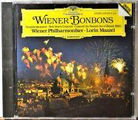 CD Wiener Bonbons Lorin Maazel New Year's Concert SEALED West Germany Silver