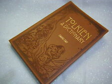 Tolkien A Dictionary Book David Day NEW PB Lord Rings Imitation Leather Gold Emb