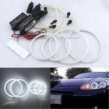 4x Excellent CCFL Angel Eyes For Hyundai Tiburon 2003-2006 Headlight Halo Ring