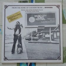 1979 Music City Song Festival VA Country Song Poem LP Sealed Mint