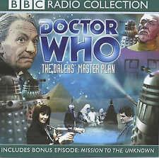 Doctor Who - The Daleks' Master Plan, Nation, Terry, Spooner, Dennis, Good, Audi